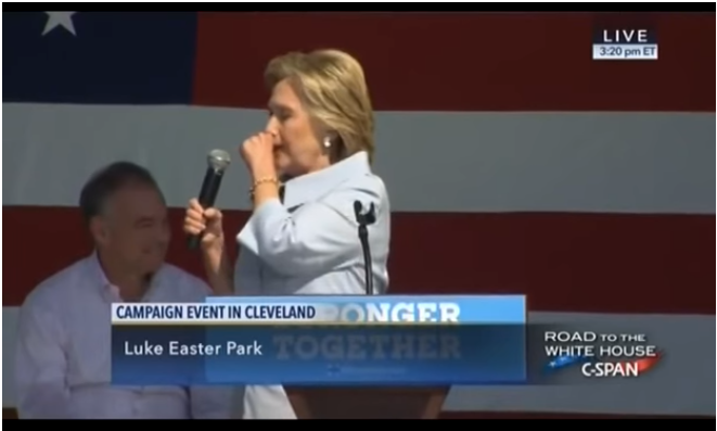 hillarycoughing