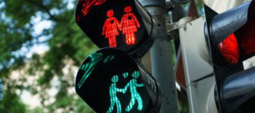 Gay Agenda Traffic Lights