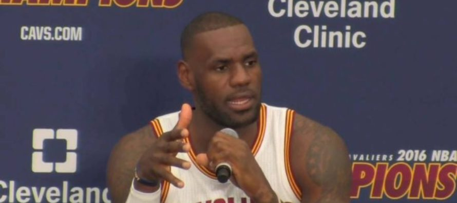 VIDEO: LeBron James Says 'ALL LIVES MATTER' and the Left Goes SAVAGE! [VIDEO]