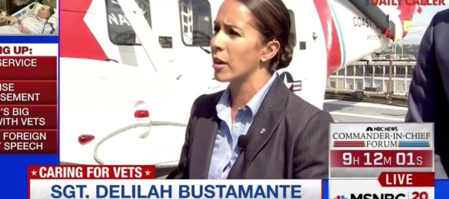 Hispanic Marine Faces MSNBC As She DEFENDS Her Decision to Support Trump [VIDEO]