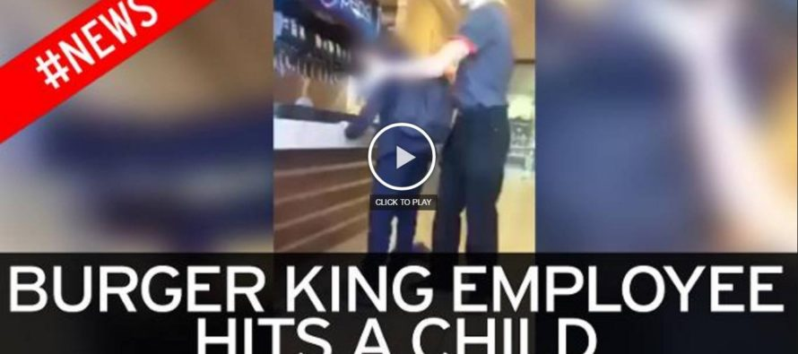 VIDEO: Burger King Employee Forces Two Boys to Mop after They Made Fun of Him for Working There