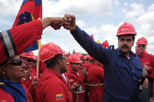 nicolas-maduro-oil-worker