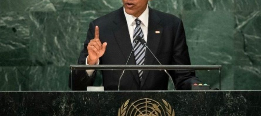 Obama To UN: 'Giving Up Liberty, Enhances Security In America…' [VIDEO]