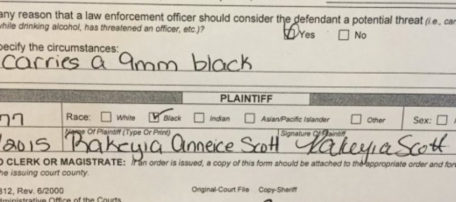 """Wife of Keith Scott: """"He Kicked Me and Threatened to Kill Us Last Night With His Gun"""" [VIDEO]"""