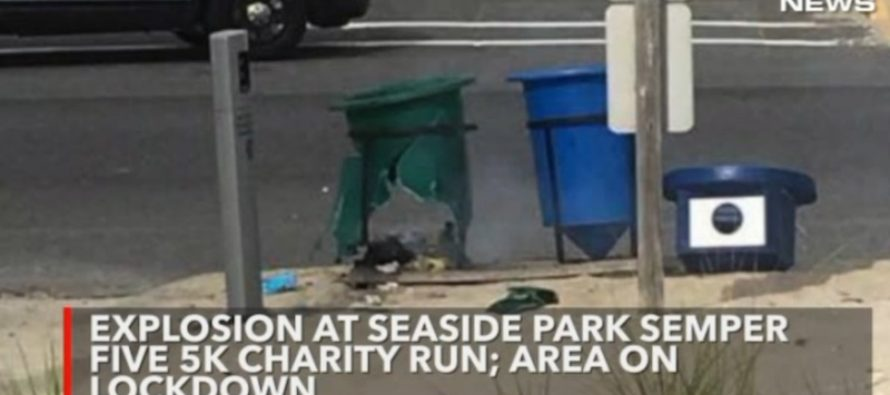 BREAKING: BOMB Explodes at Marine Charity Run, Neighborhood In Lockdown. [VIDEO]