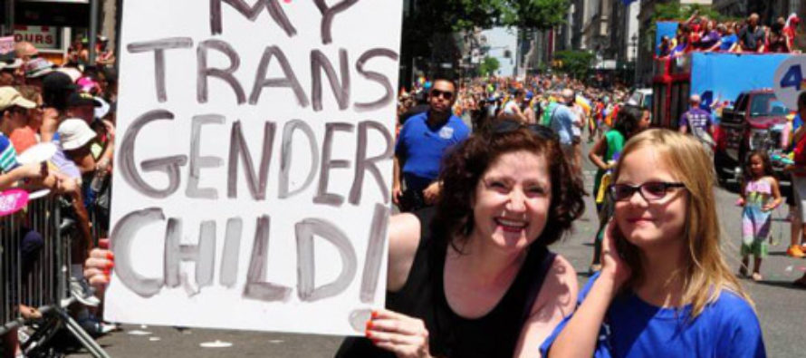 """Supposedly Transgender 4-Year-Old to Be Subjected to """"Full Transformation"""""""