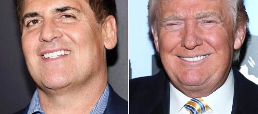 Fighting Words! Trump Counter-Punches Mark Cuban's debate intimidation tactic with his OWN!