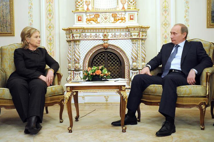 Встреча премьер-министра РФ и госсекретаря США