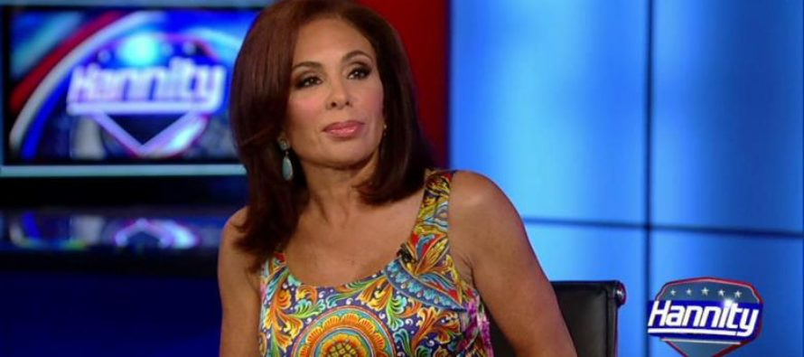 "Judge Jeanine SLAMS Geraldo Over Dem Corruption Video ""I Could Indict Them In 3 Seconds!"""