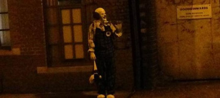 VIDEO: Man Films Himself Beating the Crap out of a Creepy Clown