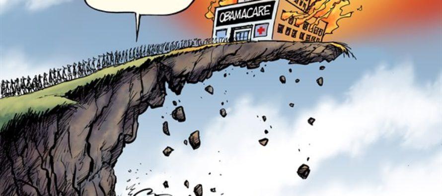 Obamacare Disaster (Cartoon)