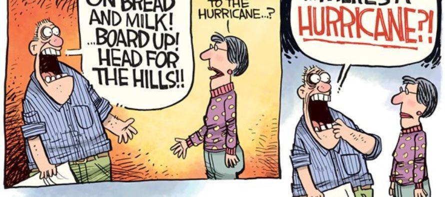 Hurricane Matthew (Cartoon)