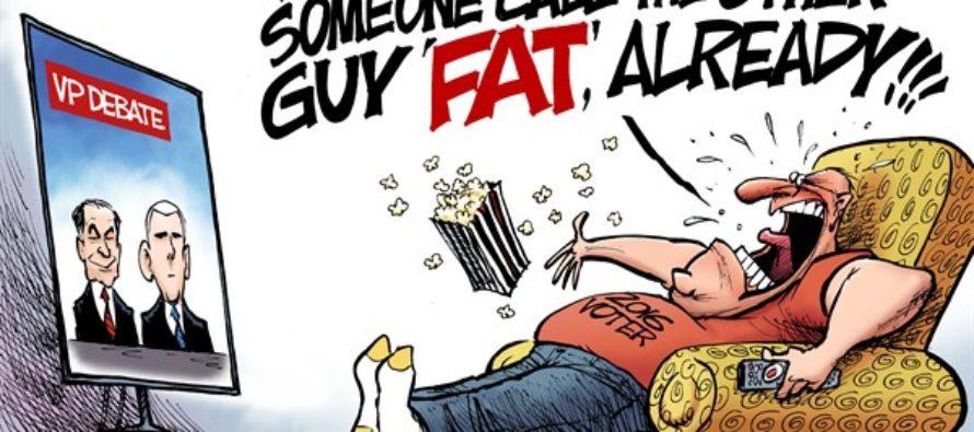 Veep Debate (Cartoon)