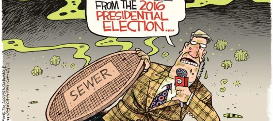 Sewer Election (Cartoon)