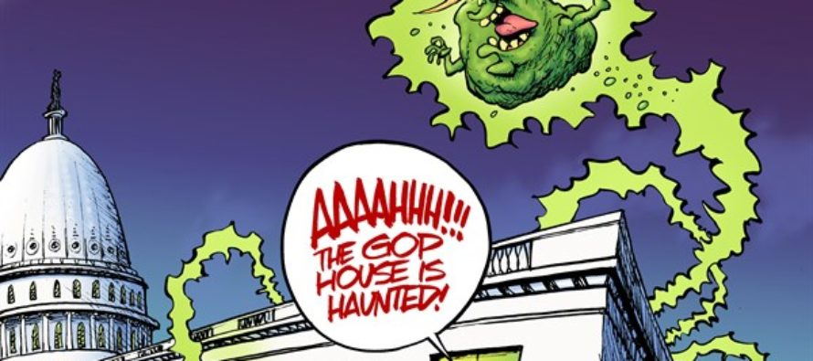 Haunted GOP House (Cartoon)