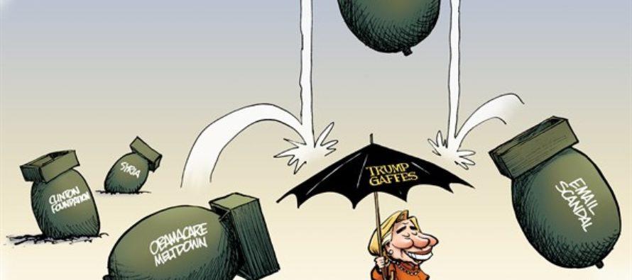 Trumpbrella (Cartoon)