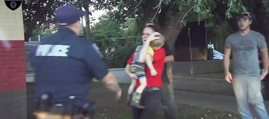 Dashboard Cam Shows Heart Racing Moment Cop Revived A Toddler Who STOPPED Breathing