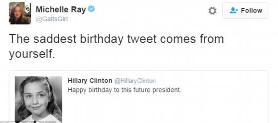 Americans BAFFLED At Hillary's AWKWARD Birthday Wish To Herself – What Was She Thinking?