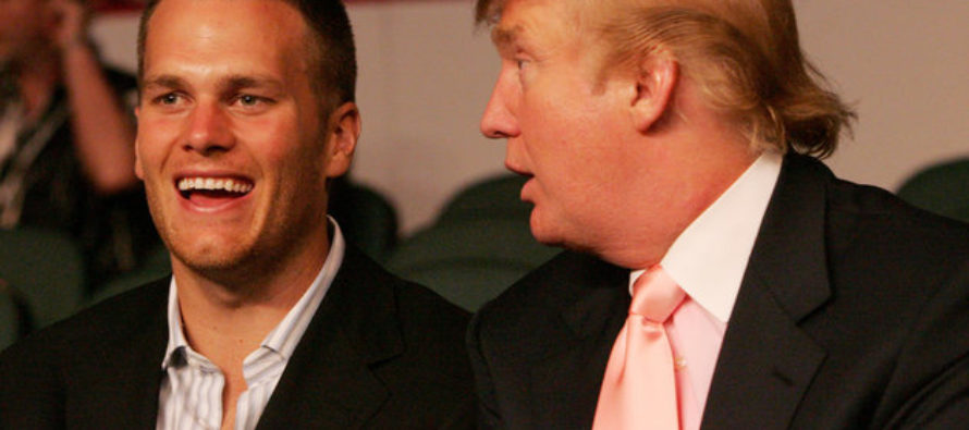 Watch What Tom Brady Does IMMEDIATELY After Being Asked About Friend Trump's Lewd Tape