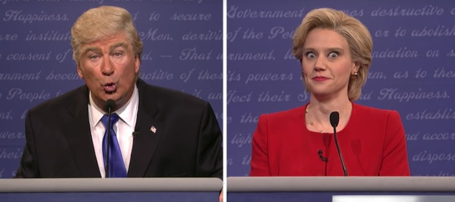 JUST BRUTAL: SNL Opener Nails Trump and Clinton With Epic Smackdown [VIDEO]