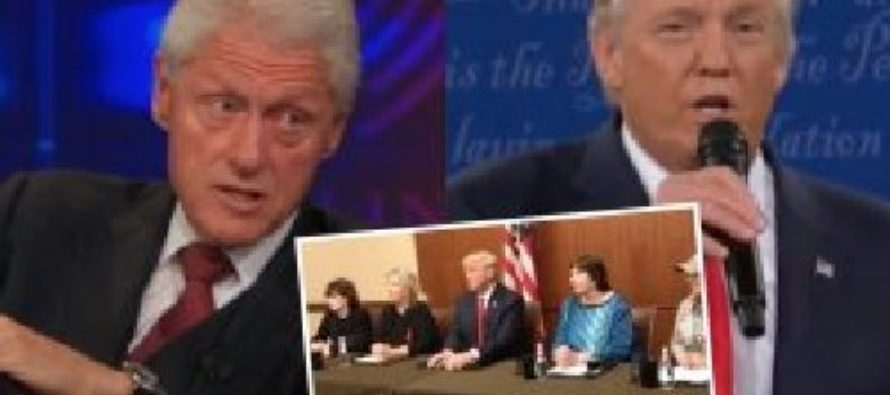 Debate Officials Prevented Bill Clinton's Accusers From Sitting in Trump Family Box Last Minute