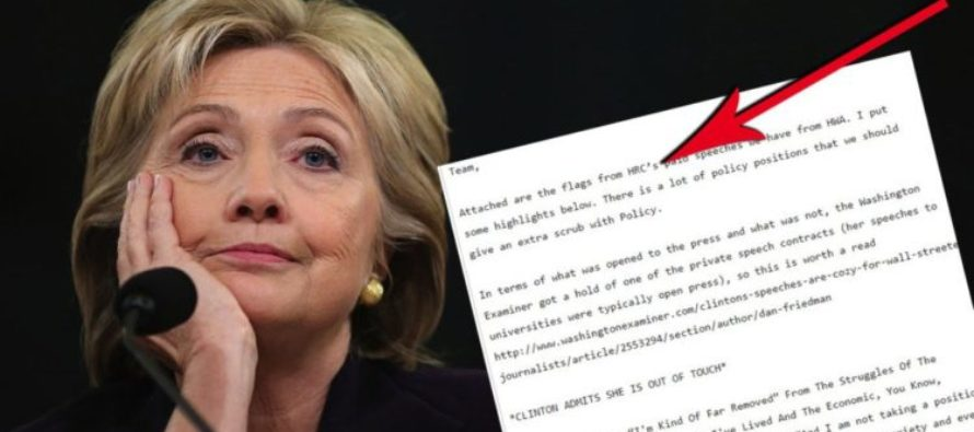 EXPOSED! Hillary Loves Wall Street, Open Borders And Universal Healthcare – No Hiding Now