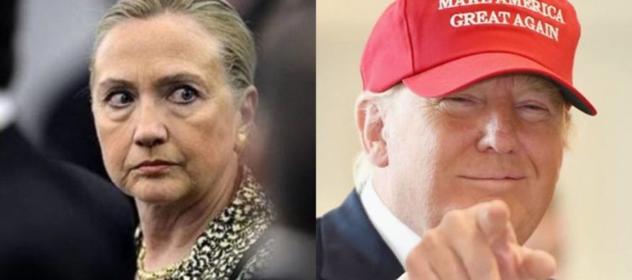 ABC Poll Reflects 10 Point DROP For Hillary In Just 4 Days – They Are TIED!