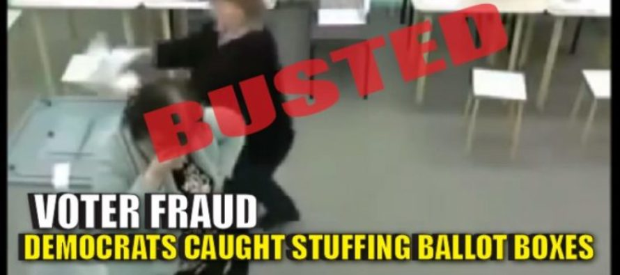 Shocking Video Shows Democrats STUFFING Ballot Boxes