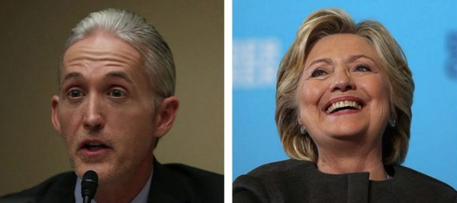 Leaked Email Reveals What Hillary Was Willing To Do To SILENCE Trey Gowdy!