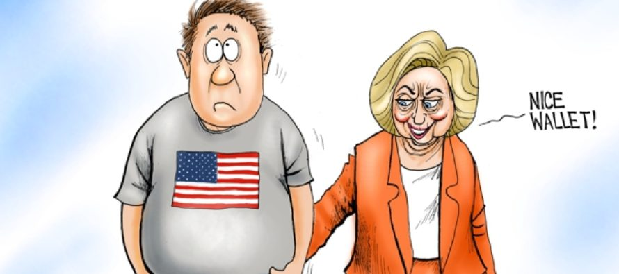 Handy Hillary (Cartoon)