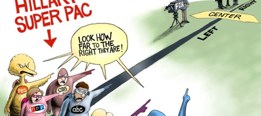 Hillary Super Pac (Cartoon)