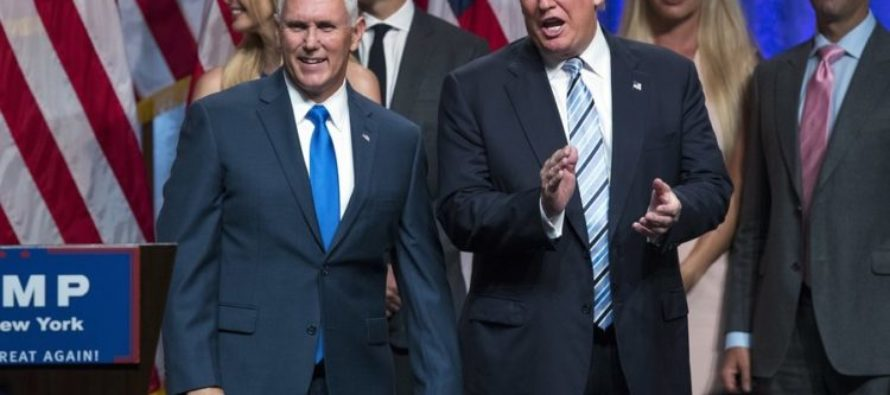 Pence's Response To Trump's Graphic Video Has Supporters Applauding