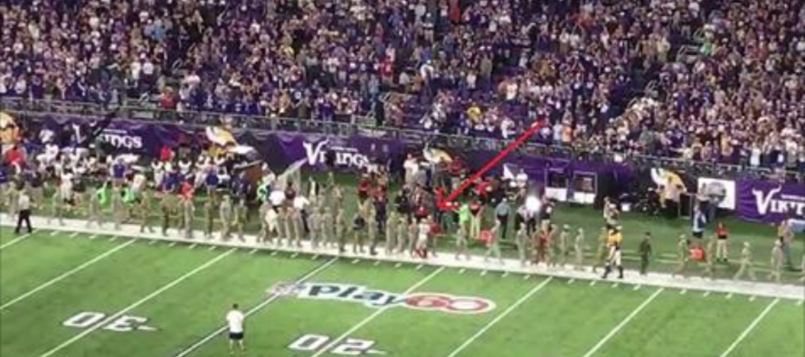 While NFL Players Protested the National Anthem, One Did Something Remarkable for Our Soldiers