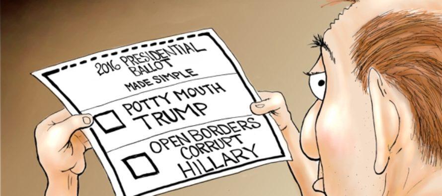 Crude or Corrupt (Cartoon)