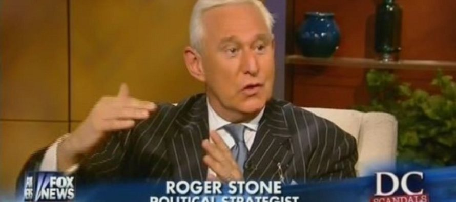Left-wing hate group caught bragging about getting Roger Stone banned from TV [VIDEO]