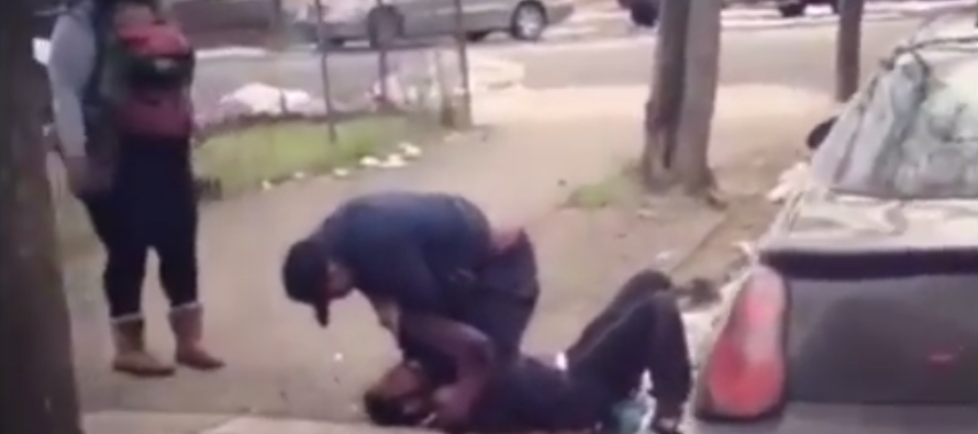 VIDEO: Man Beats Up His Wife's Side Dude