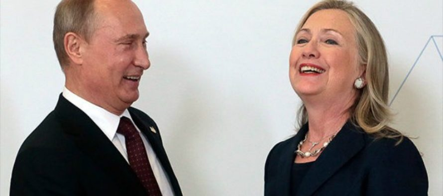 Hillary BASHED Trump On Russia Stance, But Her Relationship With Putin Was Much More Personal