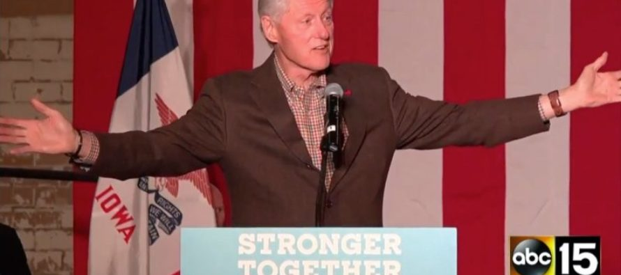 """Protester Holds """"Bill's A Rapist Sign"""" At Hillary Rally, """"Tolerant"""" Liberals Go In For The Kill"""