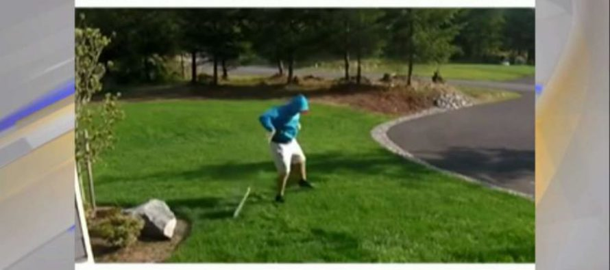 BRILLIANT! Man Booby-Traps Trump Yard Sign…Thief Gets The SHOCK Of His Life! – VIDEO