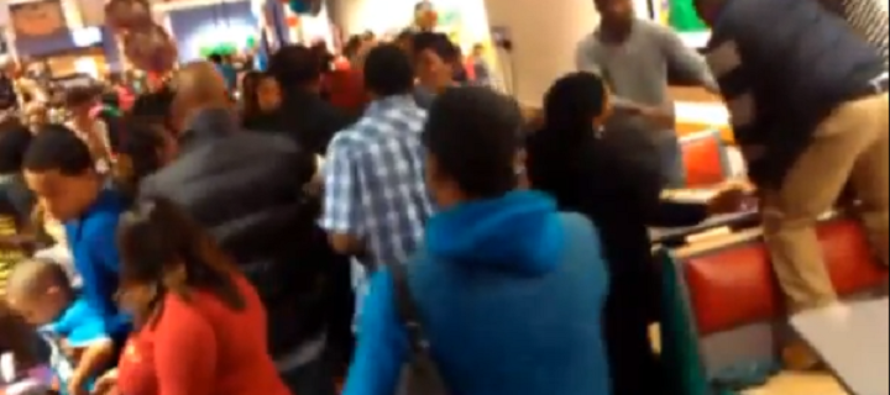 Dozens Of 'Parents' Start MASS BRAWL At Children's Birthday Party! – VIDEO