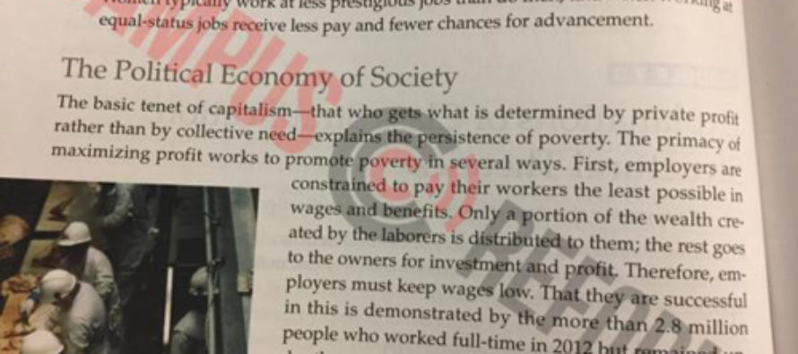 College Students Taught That Capitalism Is to Blame for Poverty