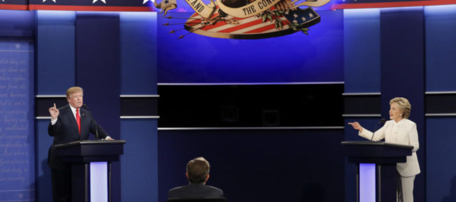 Donald Trump WINS Over Hillary-Leaners, Leading On Major Issues!