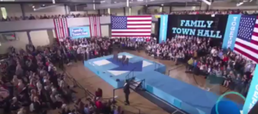 HUMILIATING: Hillary Clinton Caught Using Child Actor To Ask Question At Town Hall Rally