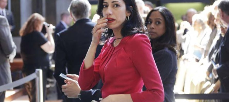 Throwing Huma Under The Bus: Mook Spent Sunday Doing Clinton's Dirty Work [VIDEO]