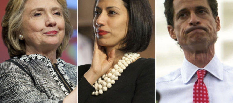 Mission Impossible: FBI Sorting Through 650,000 Emails On Weiner's Devices