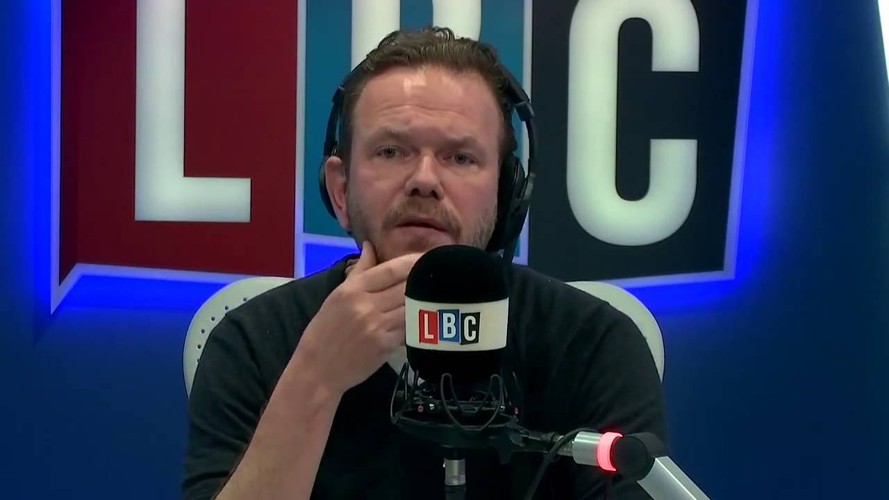 Radio Host James O'brien, who red Lex's letter on his radio show.