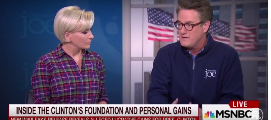 """'Morning Joe"""" Takes No Prisoners – Clinton Foundation is """"Morally Deficit, Gross!"""" [VIDEO]"""
