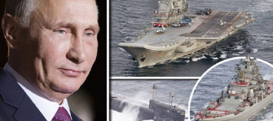 Putin Flips NATO The Birdy – Russian Fleet Squares Up To Britain's Royal Navy For A Face-Off [VIDEO]
