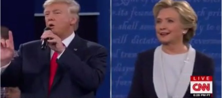 Feel the surge! Trump Jumps In The Polls, Cuts Hillary's Lead