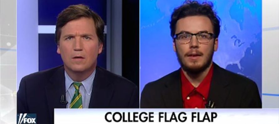 Tucker Carlson DESTROYS Clueless Liberal College Student – Leaves Him Stuttering [VIDEO]